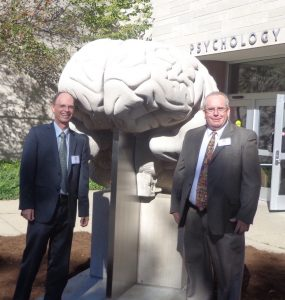 With Tom Busey, Indiana University cognitive science research colleague